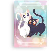 Luna & Artemis  Canvas Print