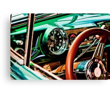 Zero Miles Per Hour Canvas Print