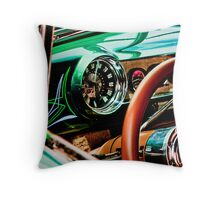 Zero Miles Per Hour Throw Pillow