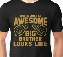 This is What an Awesome Big Brother Looks Like Retro Unisex T-Shirt