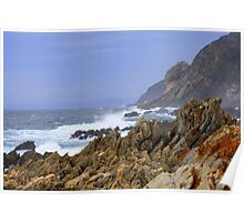 Coastline - Western Cape Poster
