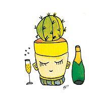 Champagne Charlotte The Drinking Cactus | Emma Watts by Daniel Watts