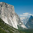 tunnel view in yosemite nationa park by peterwey
