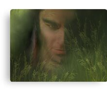 Whispers in the Grass Canvas Print