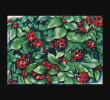 Ladybugs in the Hedge T-Shirt