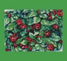 Ladybugs in the Hedge Kids Tee