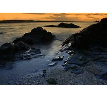 Autumn view of Skerries Photographic Print