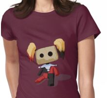 Harley Quinn Voodoo Doll Womens Fitted T-Shirt