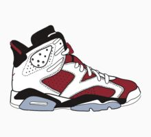 "Air Jordan VI (6) ""Carmine"" by gaeldesmarais"