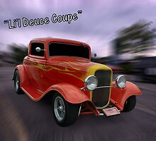 """1932 Ford 3 Window Coupe""""Li'l Deuce Coupe """" by TeeMack"""