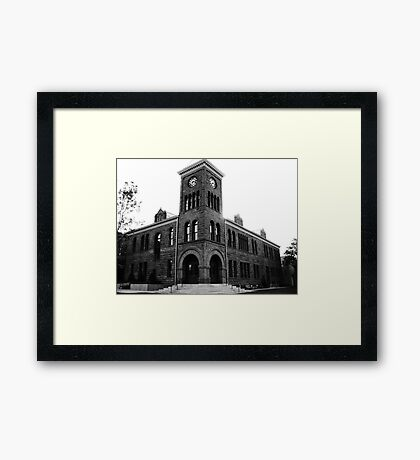 History of Photography Framed Print