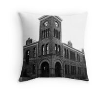 History of Photography Throw Pillow