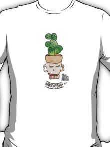 Patrick The Poker Playing Cactus | Emma Watts T-Shirt