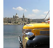 Maltese Sights. Photographic Print