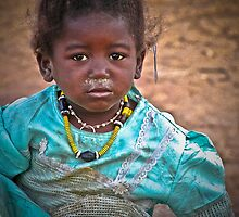 Malian girl by Saka