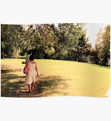 Rika walks Poster