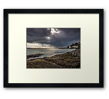 Storm Over Dovey Framed Print