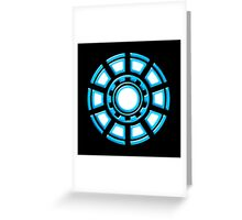 Arc Reactor, Comic, Hero, Superheroes,  Greeting Card