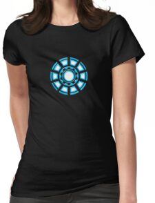 Arc Reactor, Comic, Hero, Superheroes,  Womens Fitted T-Shirt