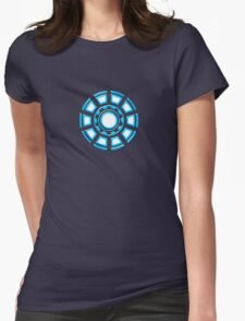 Arc Reactor, Comic, Hero, Superheroes,  Womens Fitted T-Shirt