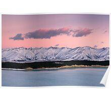 Lake Pukaki. Poster