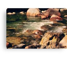 River Flow Canvas Print