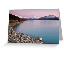 Mt Cook, Sunrise. Greeting Card