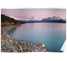 Mt Cook, Sunrise. Poster