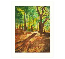 Hint of Autumn Art Print