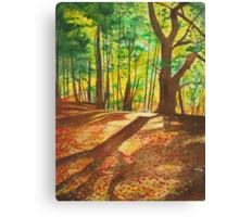 Hint of Autumn Canvas Print