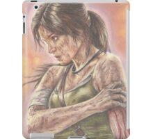Miss Croft iPad Case/Skin