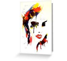 Ink n Tabs (Fragile Beauty) Greeting Card