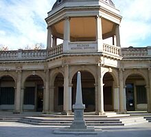 Soldiers Memorial Institute, Bendigo, Victoria by Eleanor Wylie