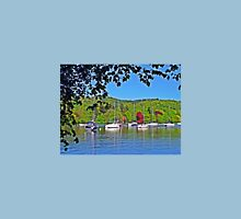 Boats on Windermere Unisex T-Shirt