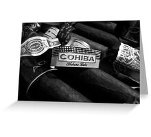 cuban cohiba  Greeting Card