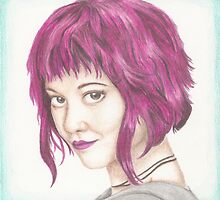 Pink Haired Ramona by Jade Jones