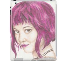 Pink Haired Ramona iPad Case/Skin