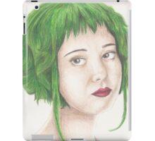 Green Haired Ramona iPad Case/Skin