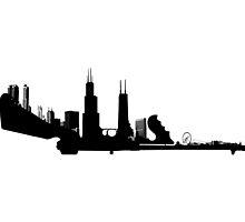 chicago tommy gun by eLEkt