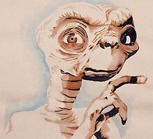 E.T l'extraterrestre by amielkevin