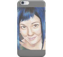 Blue Haired Ramona iPhone Case/Skin