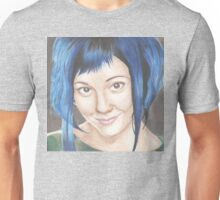 Blue Haired Ramona Unisex T-Shirt