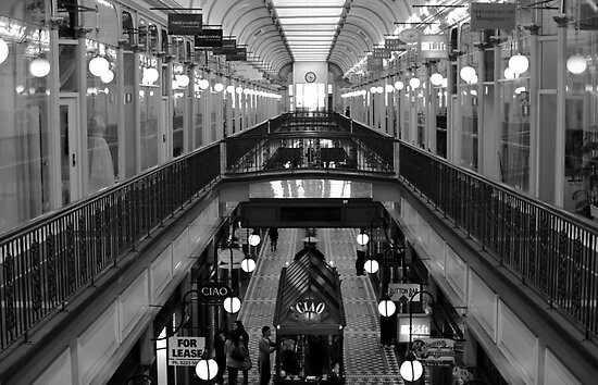 Adelaide Arcade by Aussiebluey