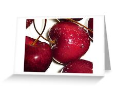 Plump & Juicy  Greeting Card