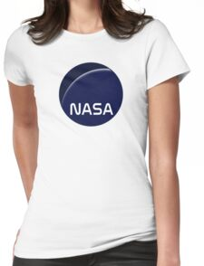 Interstellar movie NASA logo Womens Fitted T-Shirt