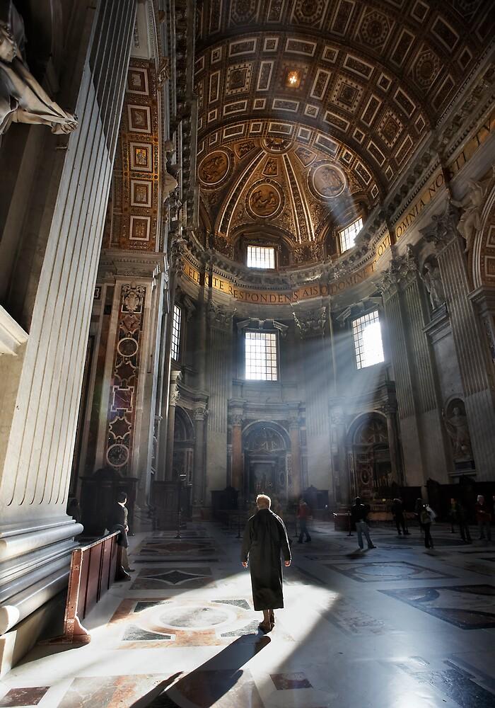 Walking through St. Pietro by Alberto Perez Veiga
