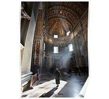 Walking through St. Pietro Poster