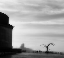 Misty Ostend by Vervs
