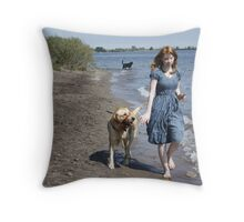 Friends Again Throw Pillow