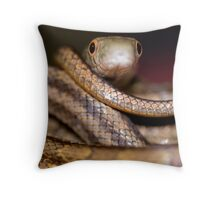 snake eyes Throw Pillow